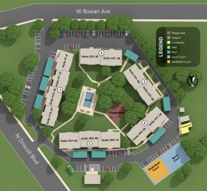 Cedar West Map